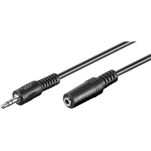 1m 3.5mm Klinke Stecker zu auf Buchse Stereo Audio Kabel Verlängerungskabel